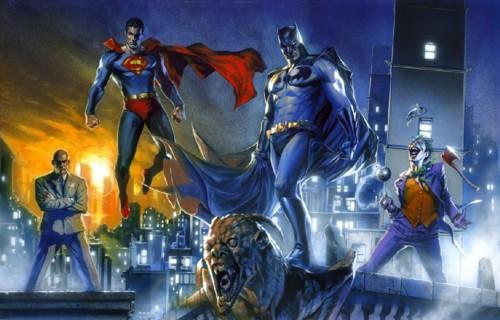 superman batman lex joker