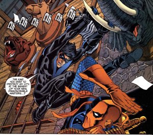 Nightwing vs. Deathstroke the Terminator - DC Comics