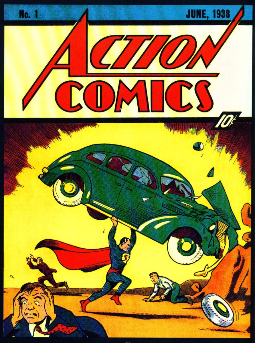 "Retro Review: Action Comics #1 (1938) - ""Superman, Champion of the Oppressed"""