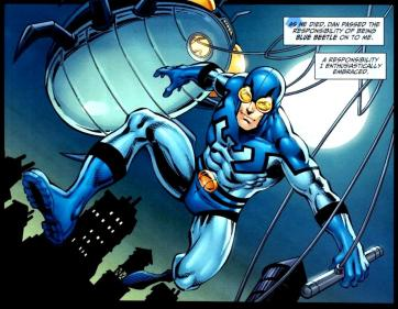 Ted Kord as the Blue Beetle - DC Comics