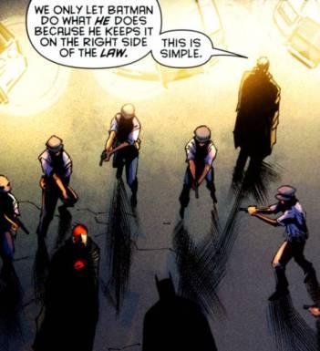 Commissioner Gordon arresting Jason Todd - Batman & Robin #6, DC Comics