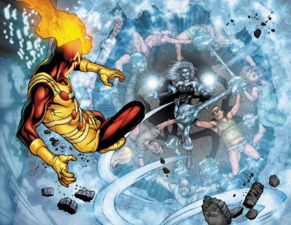 Firestorm vs Killer Frost - DC Comics