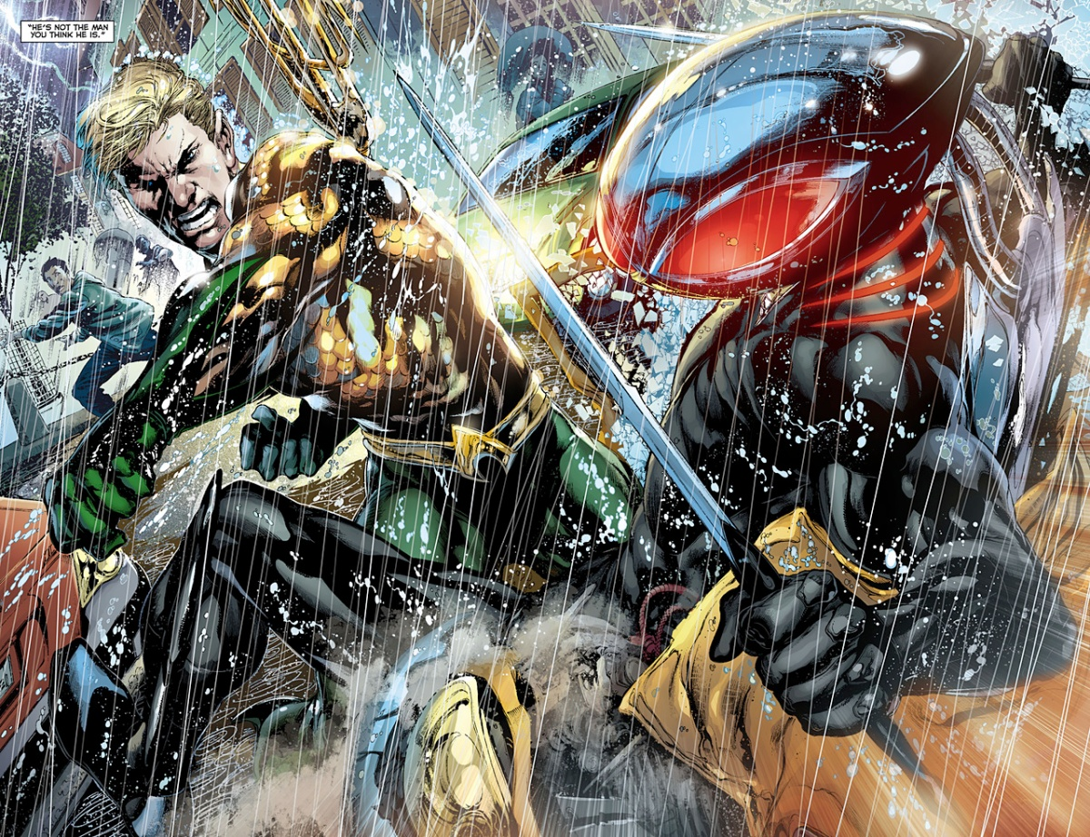 Diametrically Opposed: Aquaman / Black Manta