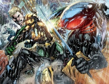 Aquaman vs. Black Manta - Aquaman #10, DC Comics
