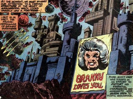 Granny Goodness' orphanage - DC Comics