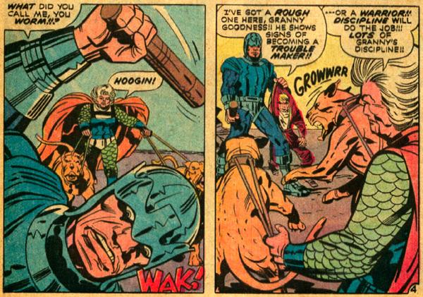 """Granny's discipline"" involves torture and brainwashing - DC Comics"