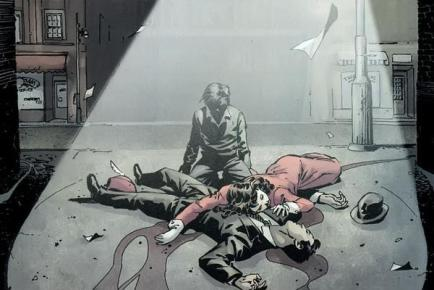 The death of Thomas & Martha Wayne - DC Comics