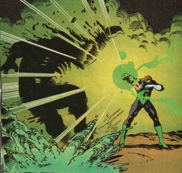 Hal Jordan destroys Kilowog - Green Lantern #50, DC Comics