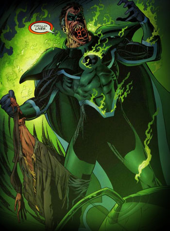 Hal Jordan as Parallax - DC Comics