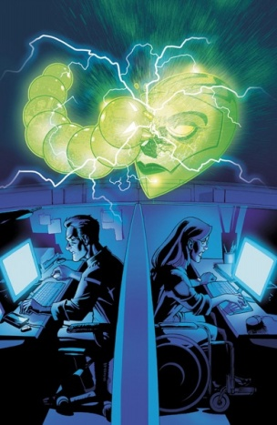 Oracle vs the Calculator - Birds of Prey #111, DC Comics