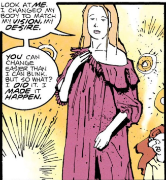 Coagula swaying the Teiresiae - Doom Patrol #79, DC Comics