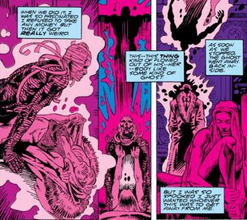 The origin of Coagula - Doom Patrol #70, DC Comics