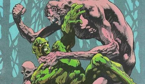 Swamp Thing vs Anton Arcane - Swamp Thing #10, DC Comics