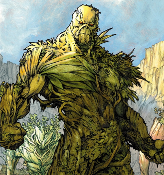 Swamp Thing as he appears in the New 52 - Swamp Thing #25, DC Comics