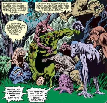 Swamp Thing vs the Un-Men - Swamp Thing #2, DC Comics