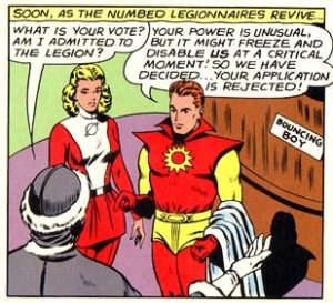 Polar Boy is rejected by the Legion of Super-Heroes - DC Comics
