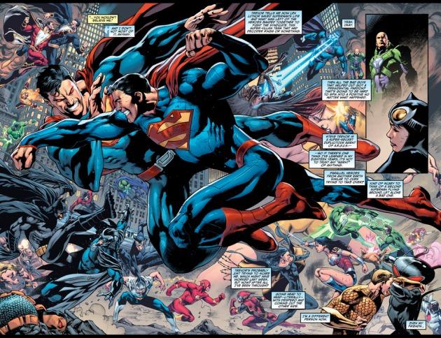 Superman vs Ultraman - Justice League of America #14, DC Comics