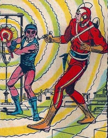 Adam Strange vs Kanjar Ro - Mystery in Space #75, DC Comics