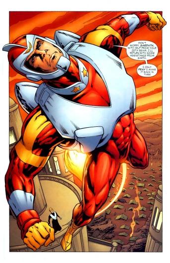 Adam Strange, Saviour of Rann - Hawkman #46, DC Comics