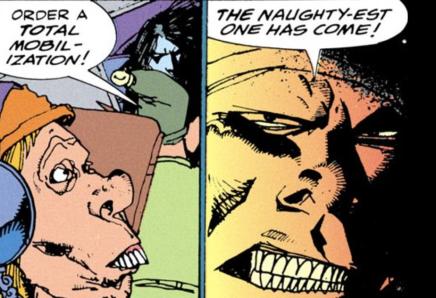 Santa's elves mobilize against Lobo - The Lobo Paramilitary Christmas Special #1, DC Comics