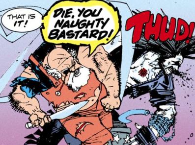 Lobo vs. Santa Claus - The Lobo Paramilitary Christmas Special #1, DC Comics