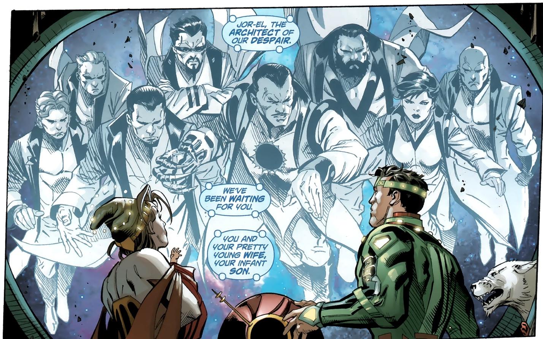 Zod Son of Jor el Zod Confronts Jor-el From