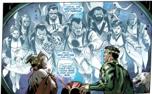 Zod confronts Jor-El from within the Phantom Zone - Action Comics #5, DC Comics