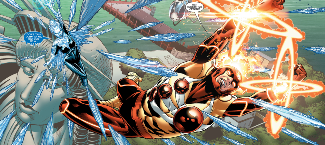 Killer Frost vs Firestorm in the New 52 - DC Comics
