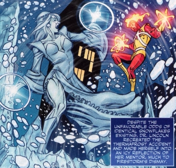 Louise Lincoln, the second Killer Frost - DC Comics