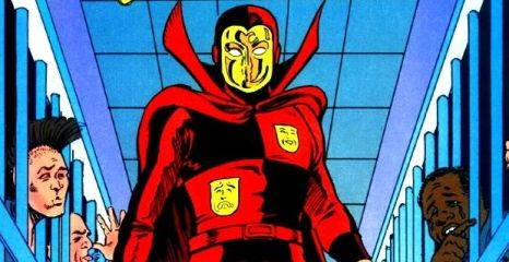 Roger Hayden as the Psycho-Pirate - Who's Who in the DC Universe #13, DC Comics