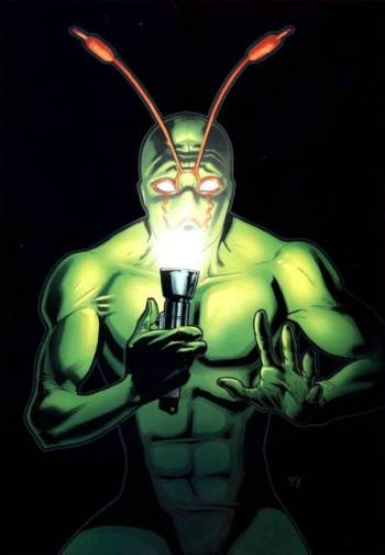 Irwin Schwab, the Ambush Bug - DC Comics