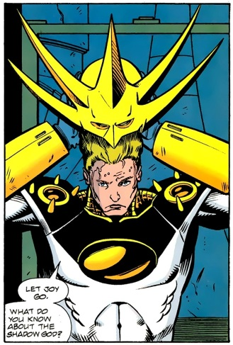 Donning the Mask of Warriors - Aztek, The Ultimate Man #5, DC Comics