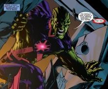 Martian Manhunter confronts Despero - Justice League #20, DC Comics