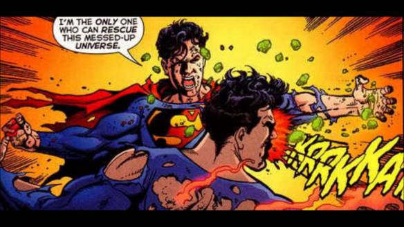 Superboy-Prime vs. Superman - Infinite Crisis #7, DC Comics