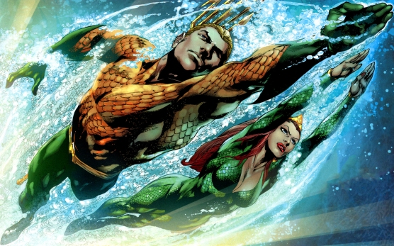 Aquaman and Mera - DC Comics
