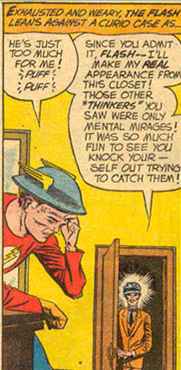 Golden Age Flash vs the Thinker - All-Flash #12, DC Comics