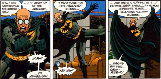 Hugo Strange discovers how it feels to be Batman - DC Comics