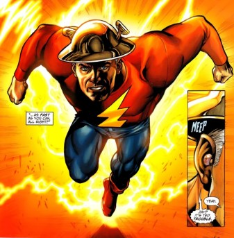 Jay Garrick as the Flash - Justice Society of America #50, DC Comics