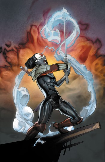 Katana and the souls within the Soultaker - Katana #6, DC Comics