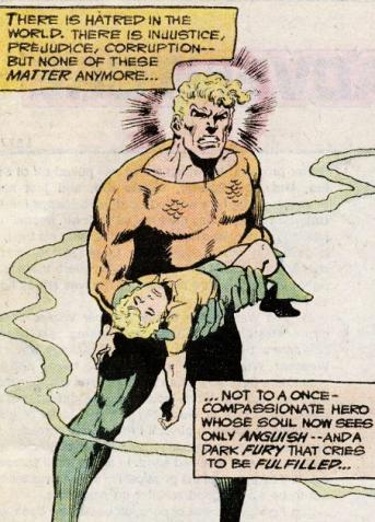The death of Arthur Curry Jr. - Adventure Comics #452, DC Comics