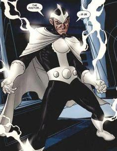 Arthur Light as the villainous Doctor Light - DC Comics