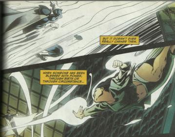 The Doctors Light fight - Green Arrow #54, DC Comics
