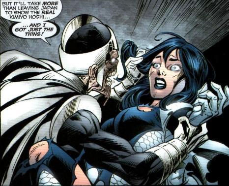 Black Lantern Doctor Light (Arthur Light) vs. Doctor Light (Kimyo Hoshi) - Justice League of America #40, DC Comics