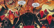 Glorious Godfrey and his Justifiers - Robin Rises: Omega #1, DC Comics