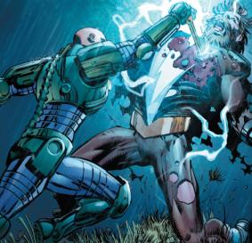 Lex Luthor defeats Mazahs - Forever Evil #7, DC Comics