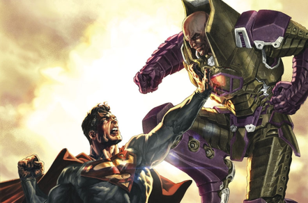 Superman vs Lex Luthor - Superman Unchained #1 (Variant), DC Comics